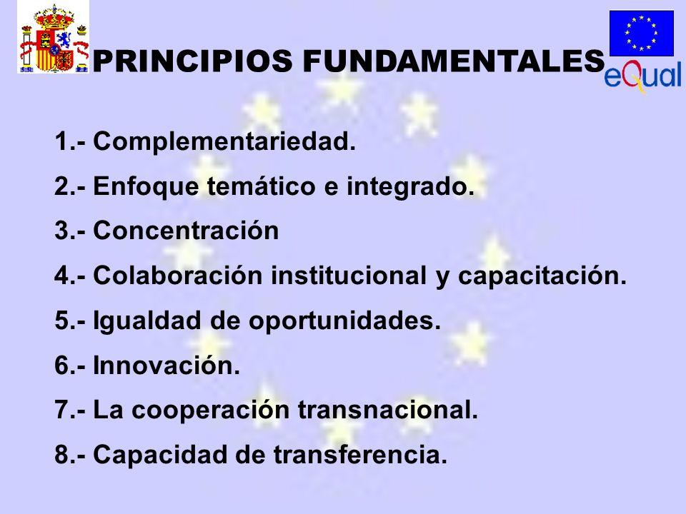 1.- Complementariedad. 2.- Enfoque temático e integrado.