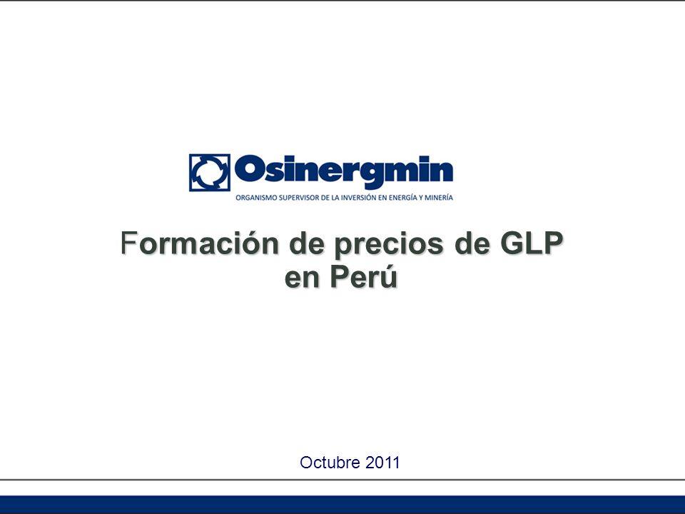 Formación de precios de GLP en Perú Octubre 2011