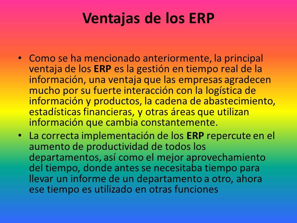 ¿Qué es un ERP.