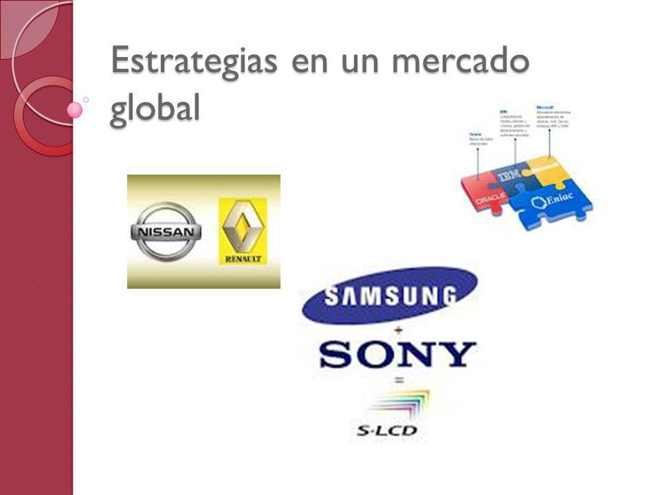 Estrategias en un mercado global