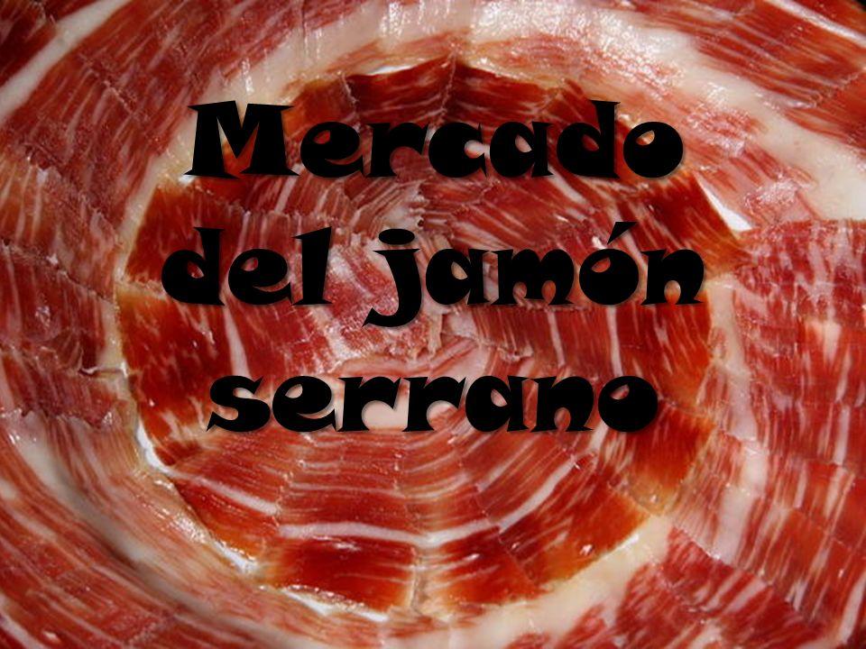 Presentación del mercado Conclusiones Oferta Demanda 1.¿Por qué el mercado del jamón.