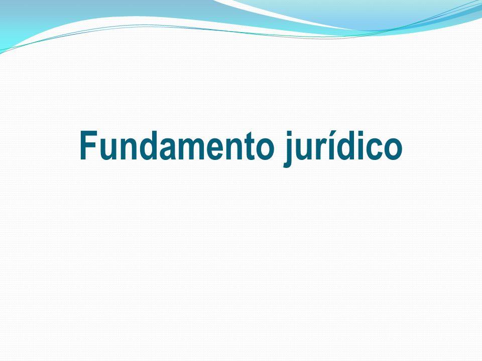 Fundamento jurídico