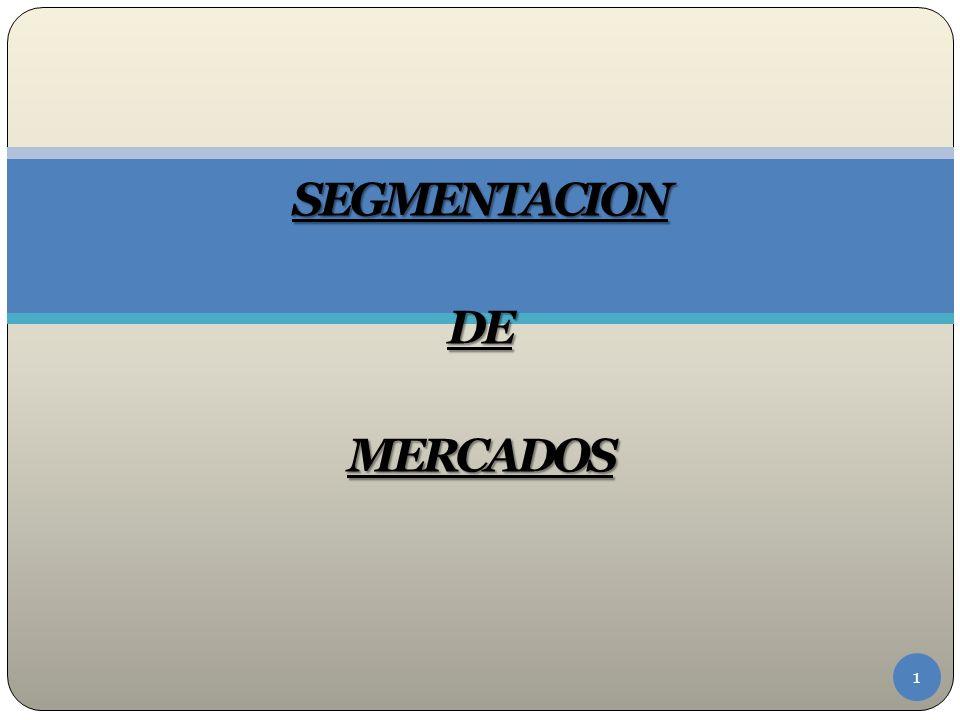 La segmentación es efectiva siempre y cuando se logren los objetivos que se fijo la empresa, se segmente el mercado adecuadamente y se obtenga la información que se desee.