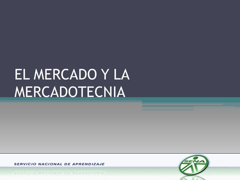 EL MERCADO Y LA MERCADOTECNIA