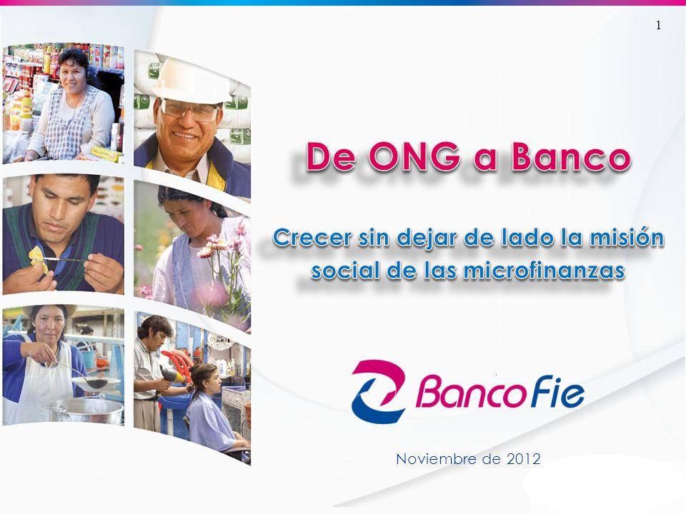 Historia FIE es una entidad financiera que nace como ONG en 1985.