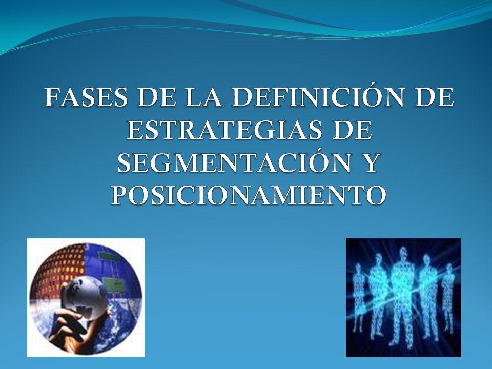 EL PROCESO DE SEGMENTACIÓN DEL MERCADO INTUITIVAMENTE Experiencia Juicio COMPETENCIA Pista Participaciones anteriores