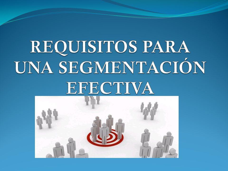 Marketing Concentrado Este tipo de estrategia de cobertura de mercado tiene especial atractivo cuando los recursos de una empresa son limitados.