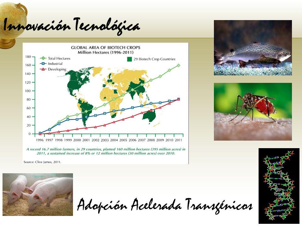 Innovación Tecnológica Adopción Acelerada Transgénicos