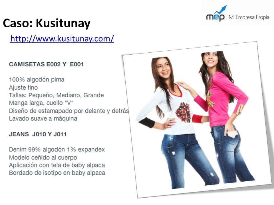 Caso: Kusitunay http://www.kusitunay.com/