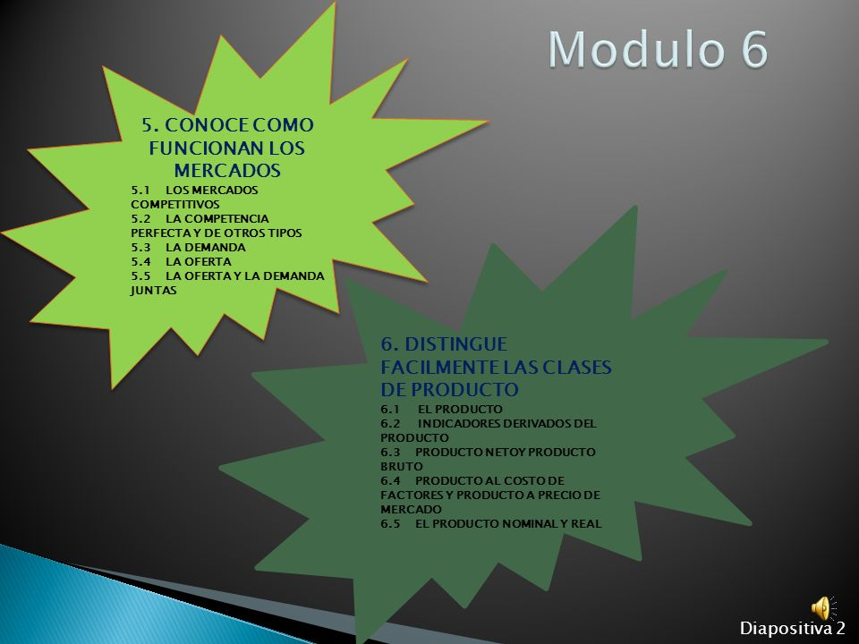 6. DISTINGUE FACILMENTE LAS CLASES DE PRODUCTO Diapositiva 12