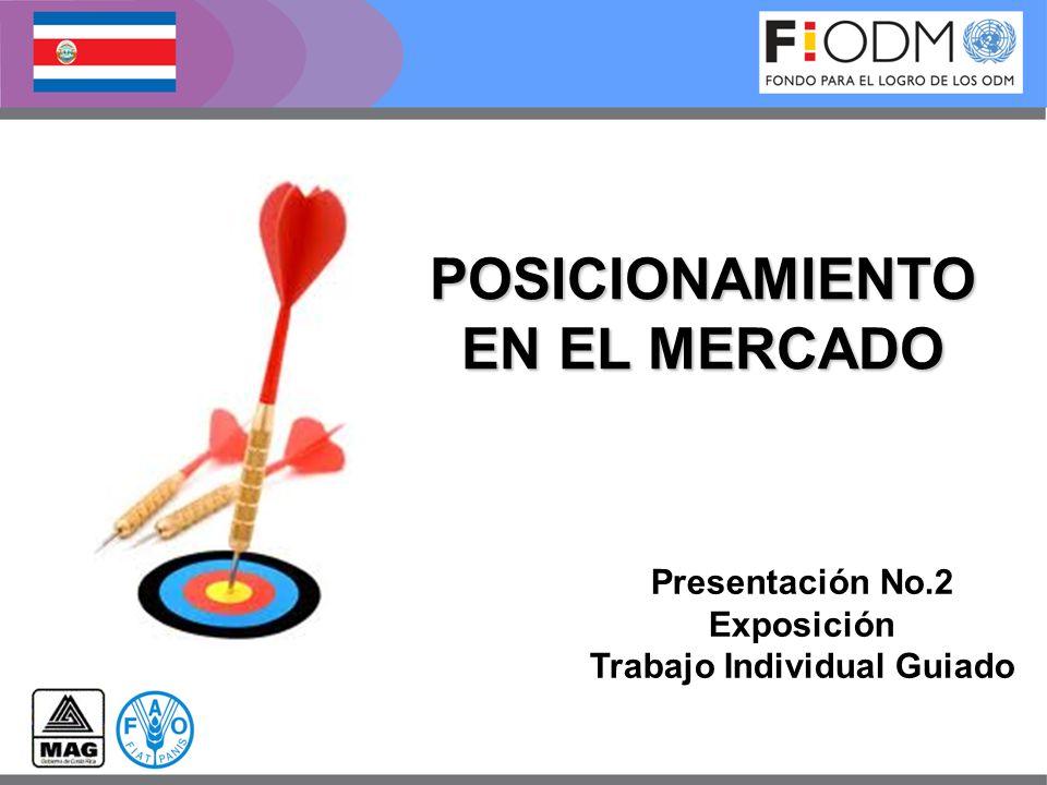 POSICIONAMIENTO EN EL MERCADO Presentación No.2 Exposición Trabajo Individual Guiado