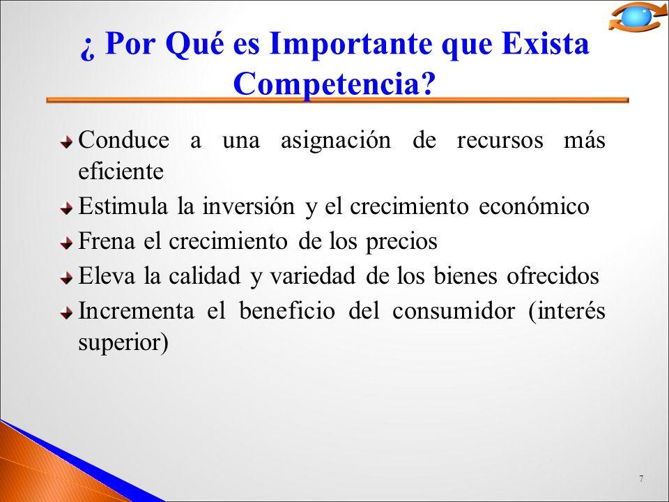 7 ¿ Por Qué es Importante que Exista Competencia.