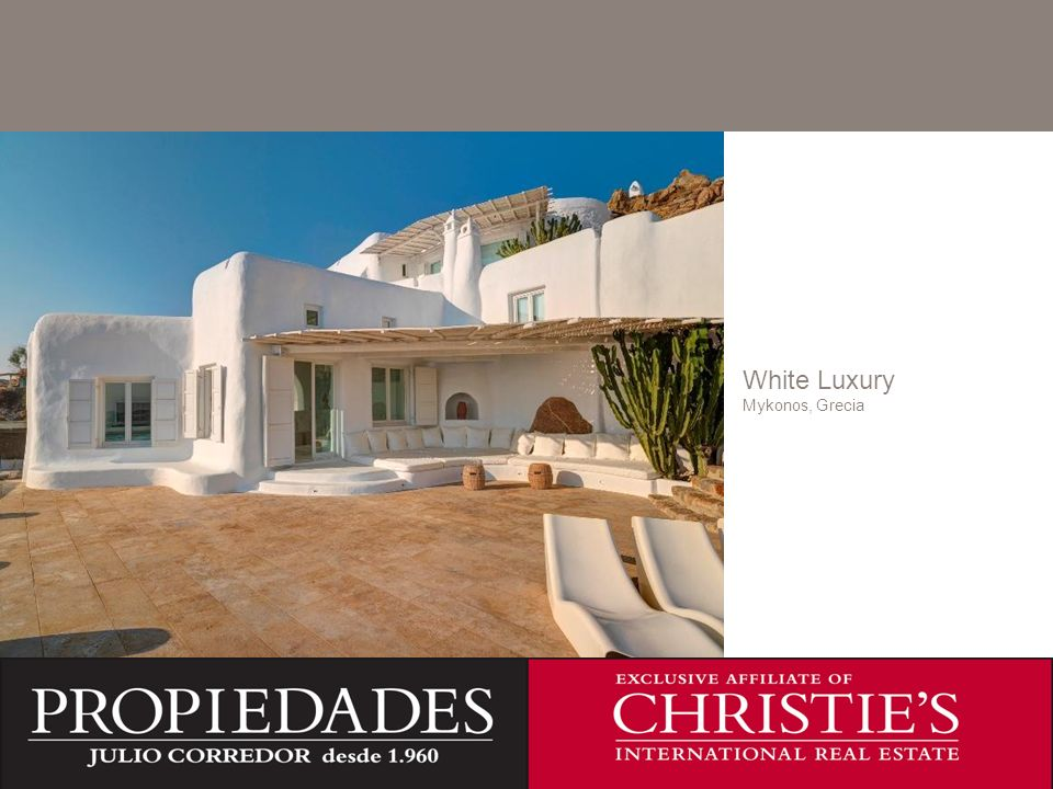 C White Luxury Mykonos, Grecia C