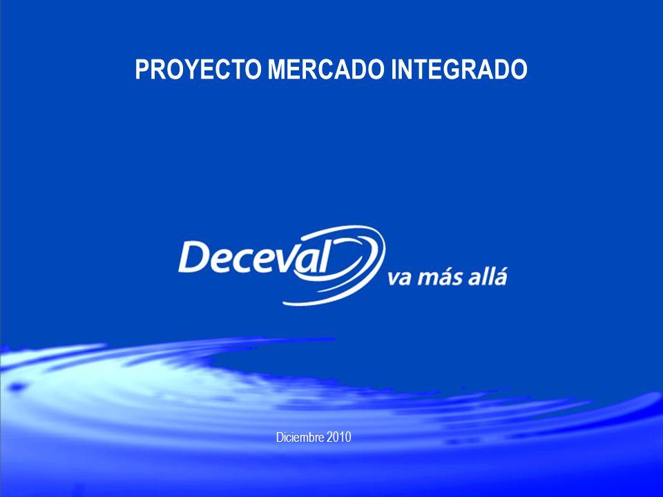 PROYECTO MERCADO INTEGRADO Diciembre 2010
