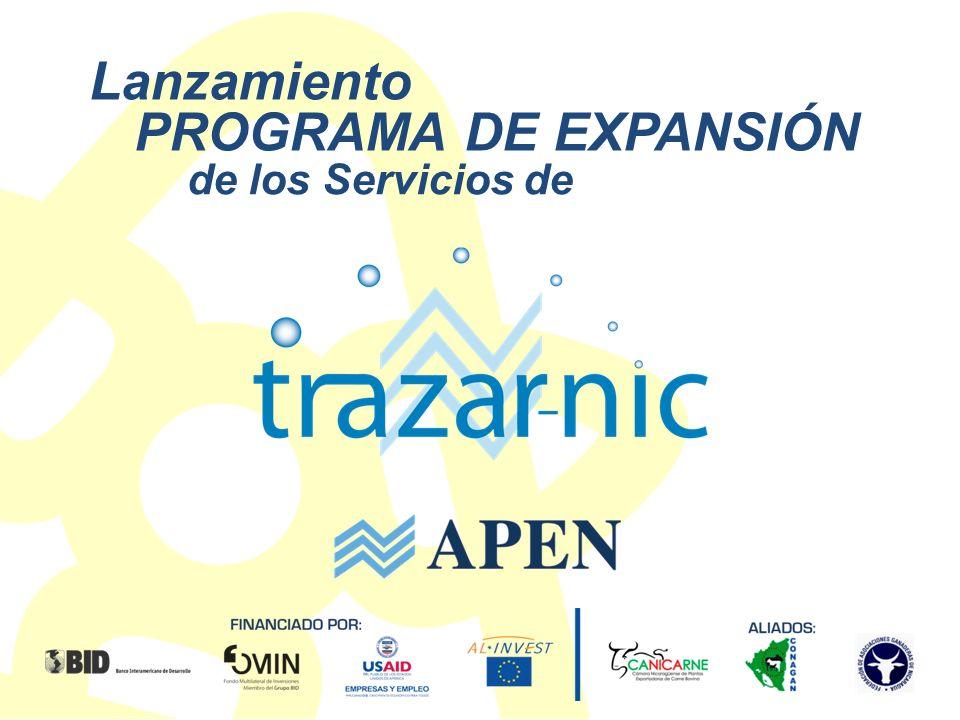 En cada momento del proceso 2012 www.apen.org.ni APEN trabaja por una nueva estrategia comercial y productiva que fortalezca la posición exportadora cárnica