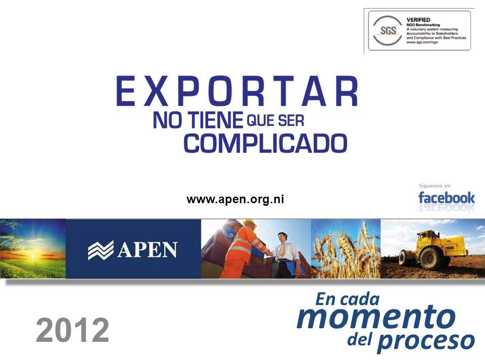 En cada momento del proceso 2012 www.apen.org.ni