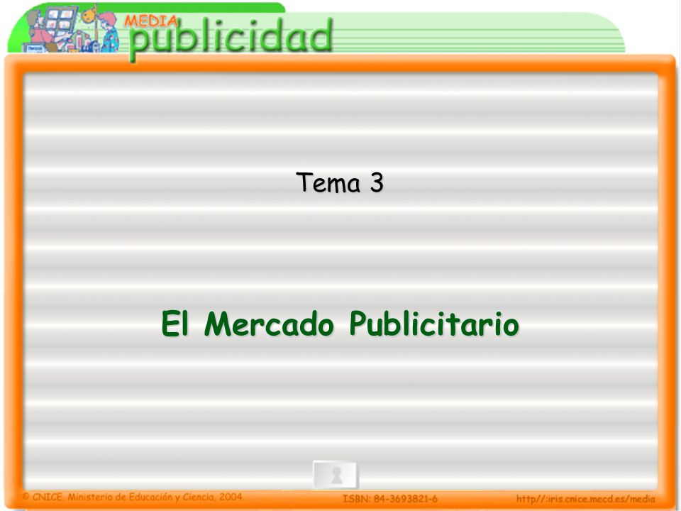 3.- El mercado publicitario 3.