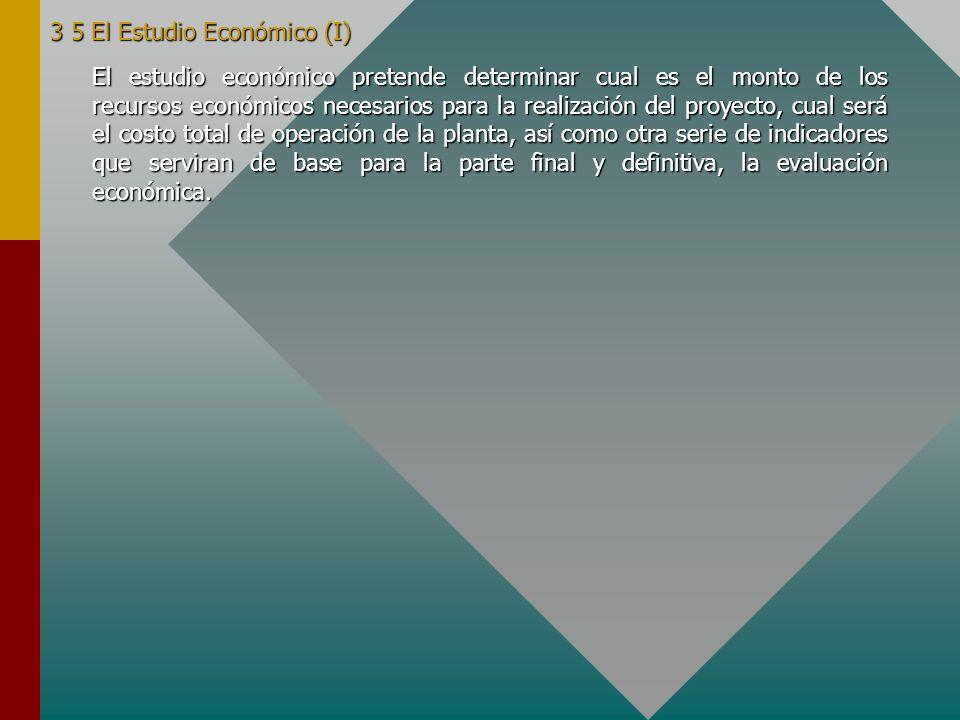 3.4 El Estudio de Viabilidad Técnica. Objetivos Los objetivos del estudio de viabilidad técnica se pueden fijar en: - Verificación de la posibilidad t