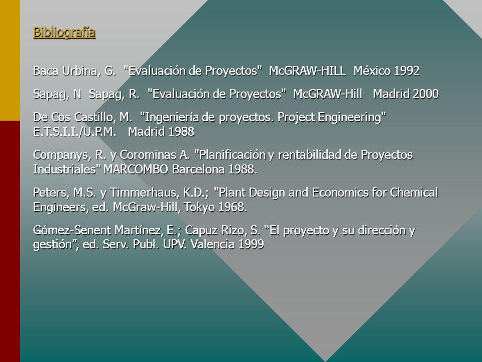 Capítulo 3: Estudios Previos 3.1 Justificación de los Estudios previos, alcance y tipos 3.2 Estructura de un Estudio de Viabilidad 3.3 El Estudio de M