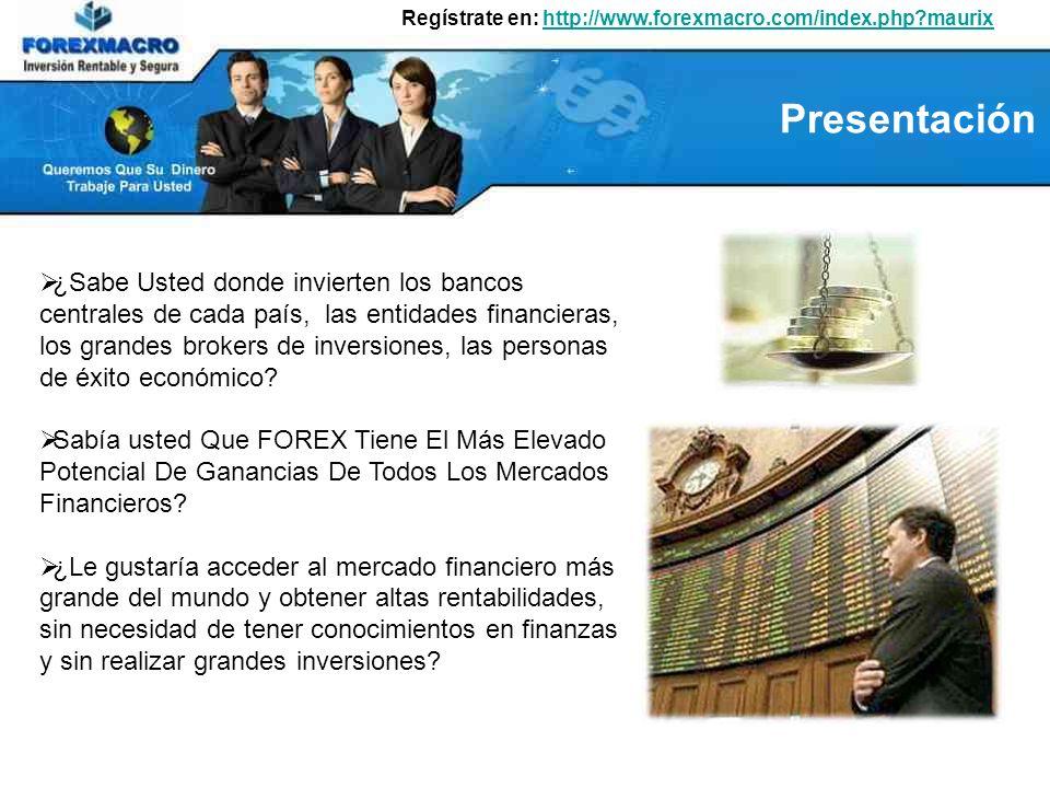 El Mercado Forex (Foreing Exchange Market) es el mercado internacional de divisas en donde se cotizan monedas como el euro, la libra, el yen, el dólar y otras monedas.
