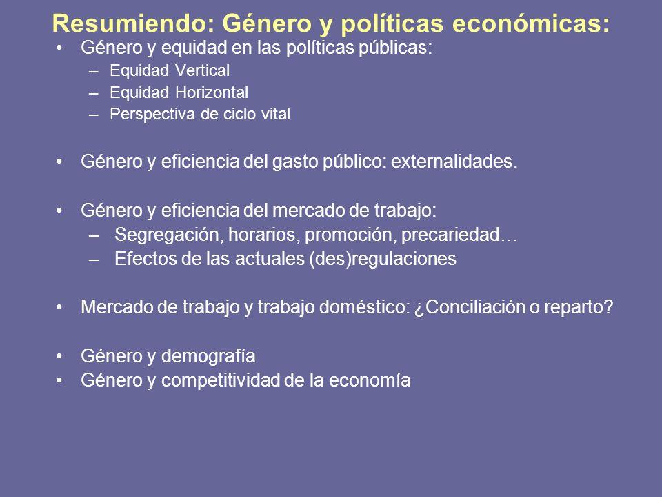 la equidad horizontal: