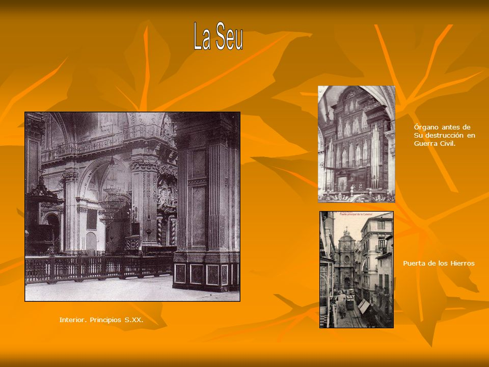 Altar Mayor Puerta de los Hierros 1906.