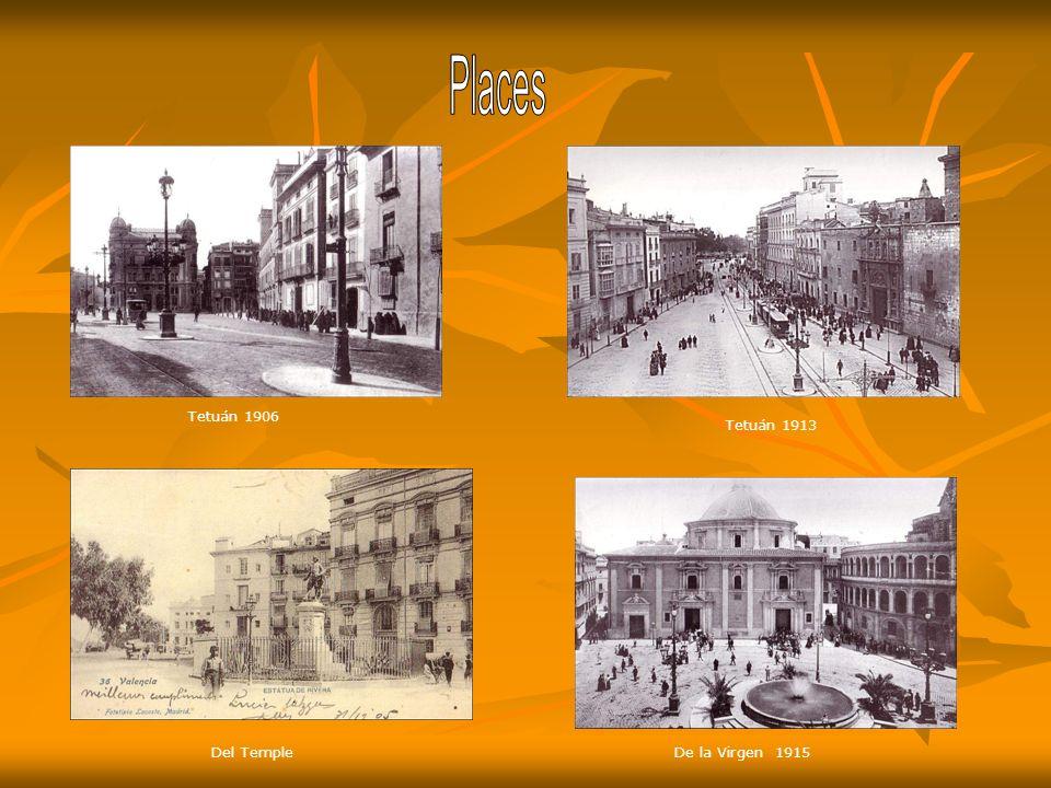 Mercado en 1908 y al centro mercado de las flores. Mercado de Colón 1914.