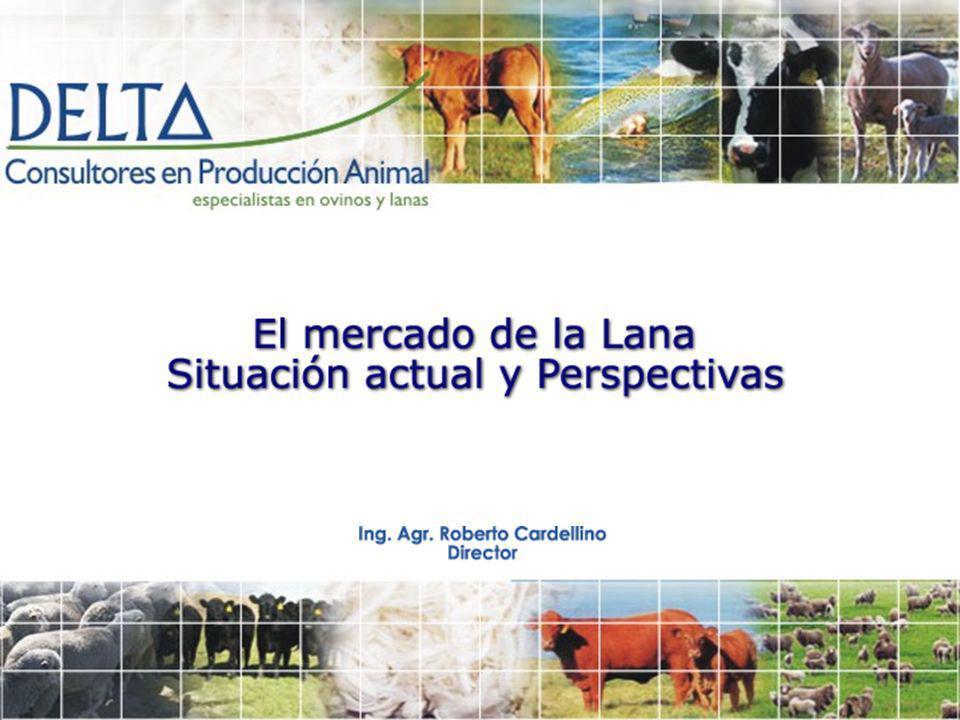 Mercado para las prendas de vestir de lana en 2008 Buena demanda por fibras naturales, incluida la lana.