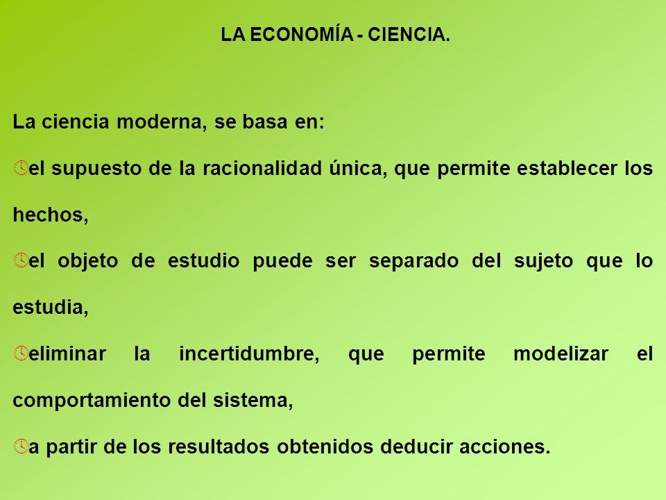 LA ECONOMÍA - CIENCIA.