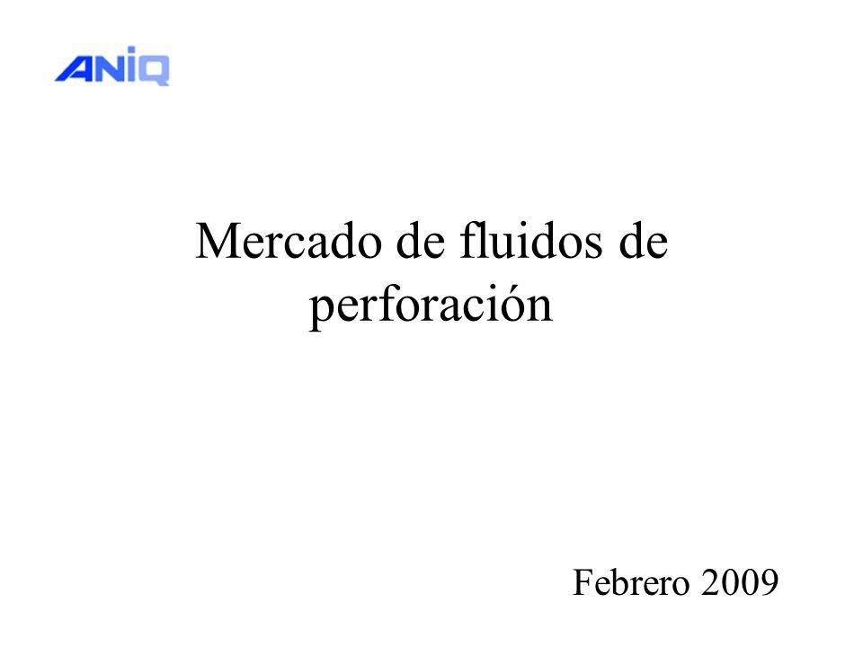 Mercado de fluidos de perforación Febrero 2009