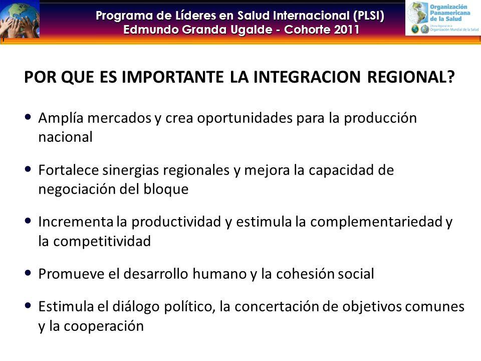 Programa de Líderes en Salud Internacional (PLSI) Edmundo Granda Ugalde - Cohorte 2011 ARMONIZACION Y ALINEACION COOPERACION