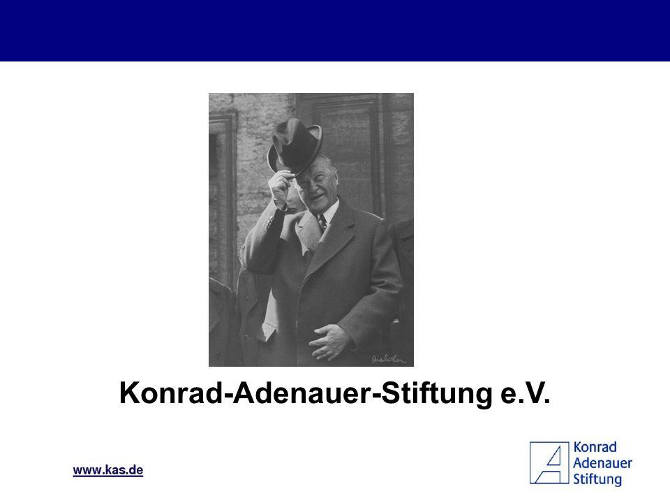 La Economía Social de Mercado Santa Cruz, 19 de junio de 2009 Susanne Käss Fundación Konrad Adenauer