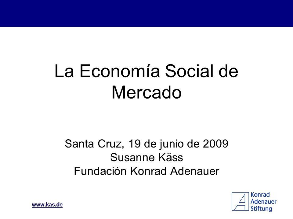Tradiciones cristianas Hoy en día región democrática Desigualdad social causa inestabilidad Economía Social de Mercado podría ofrecer una solución Perspectivas en Latinoamérica