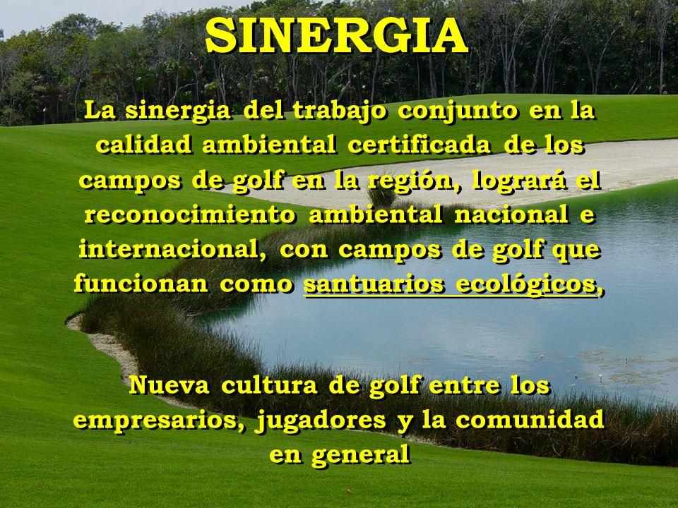 La sinergia del trabajo conjunto en la calidad ambiental certificada de los campos de golf en la región, logrará el reconocimiento ambiental nacional