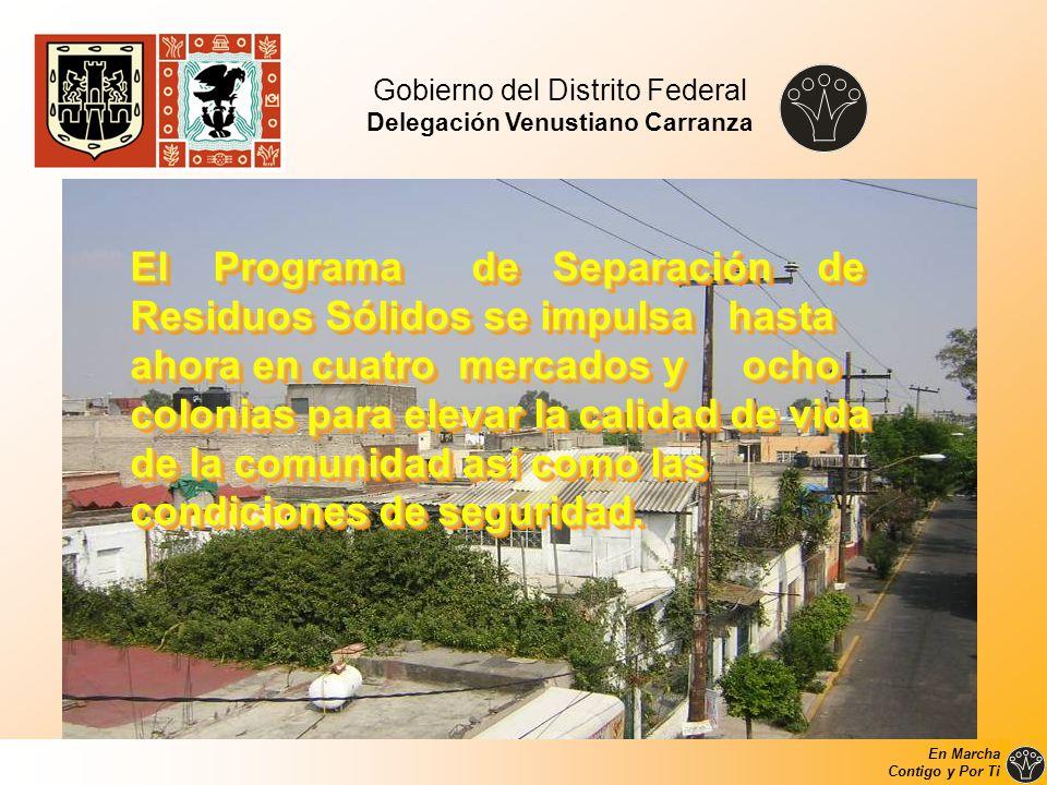El Programa de Separación de Residuos Sólidos se impulsa hasta ahora en cuatro mercados y ocho colonias para elevar la calidad de vida de la comunidad