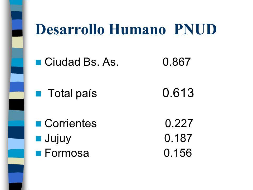 Desarrollo Humano PNUD Ciudad Bs.As.