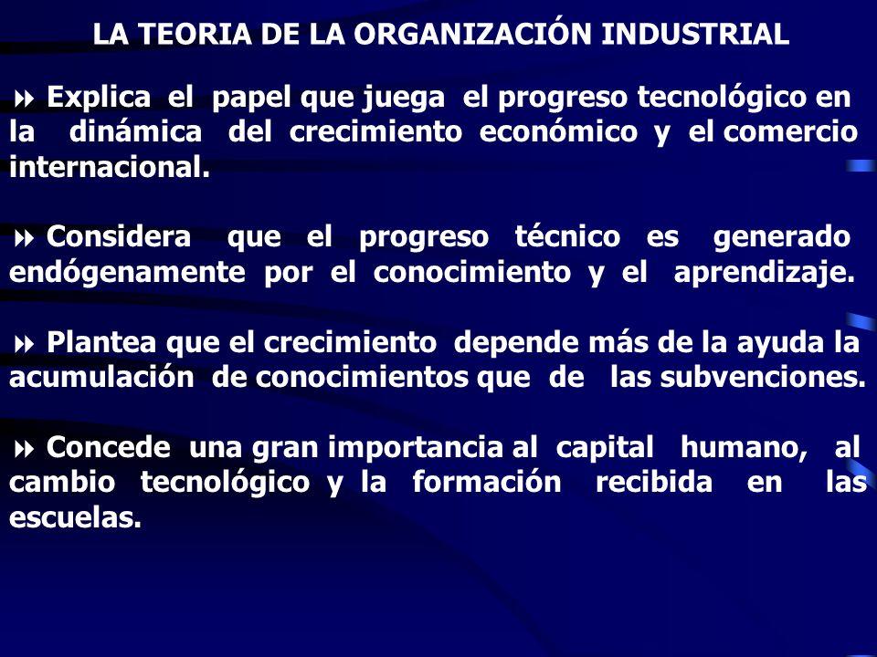 LA TEORIA DEL CICLO DEL PRODUCTO ò Incorpora el papel que juega la Inversión Extranjera Directa en la introducción de un nuevo producto. ò Plantea que
