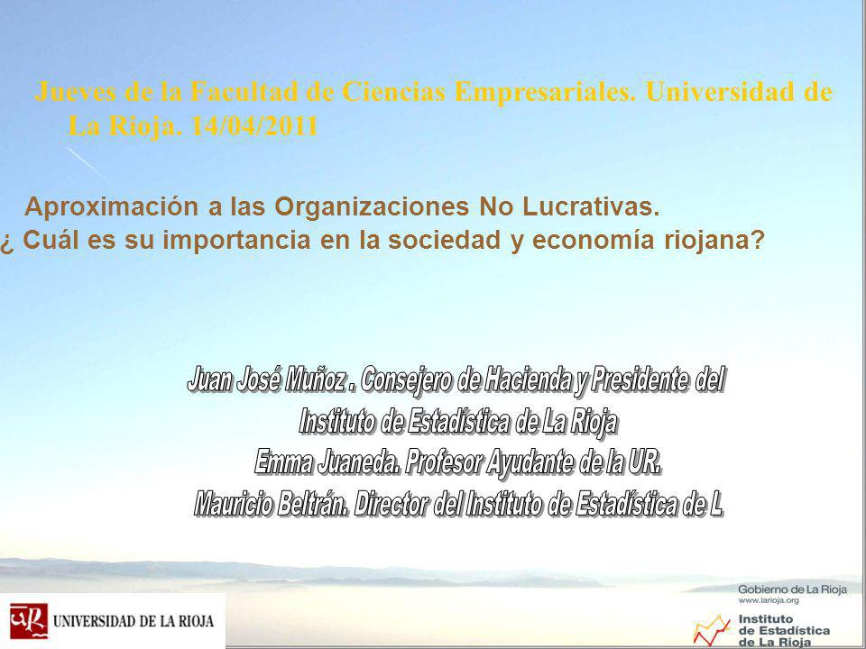 Jueves de la Facultad de Ciencias Empresariales.Universidad de La Rioja.