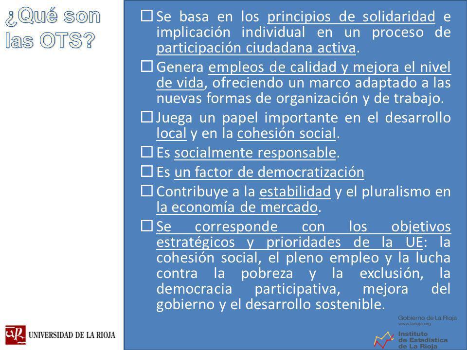 Se basa en los principios de solidaridad e implicación individual en un proceso de participación ciudadana activa.