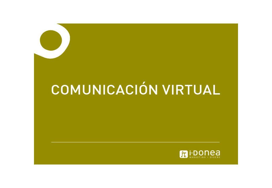 Comunicación virtual: SITIO WEB Showroom virtual de nuestro trabajo.
