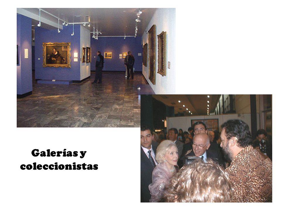 Galerías y coleccionistas