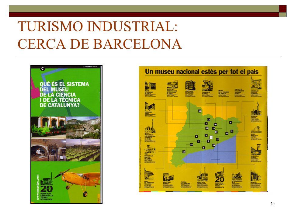 15 TURISMO INDUSTRIAL: CERCA DE BARCELONA