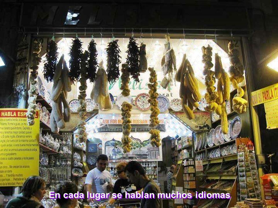 En cada lugar se hablan muchos idiomas