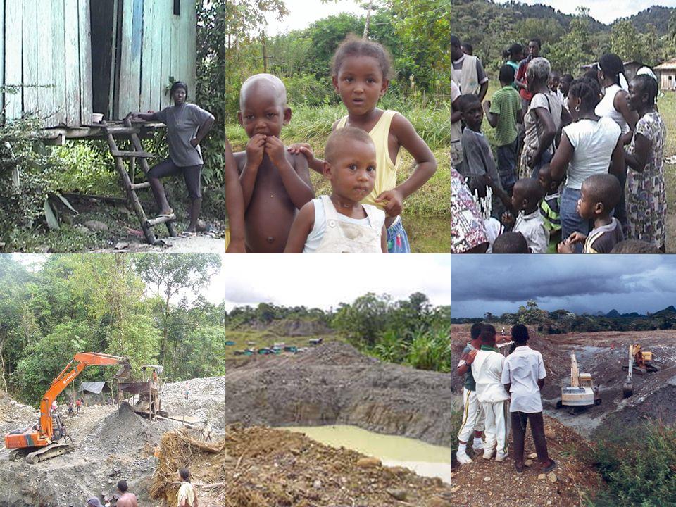 79% de su población sufre de NBI en 2005 La mortalidad infantil es 3 veces la del promedio nacional 13 millones de desplazados en 2004 Deforestación C