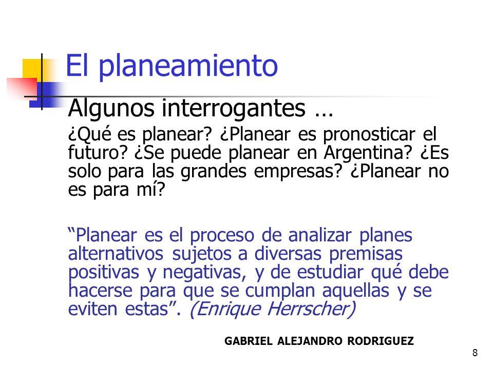 9 Planeamiento Vs.
