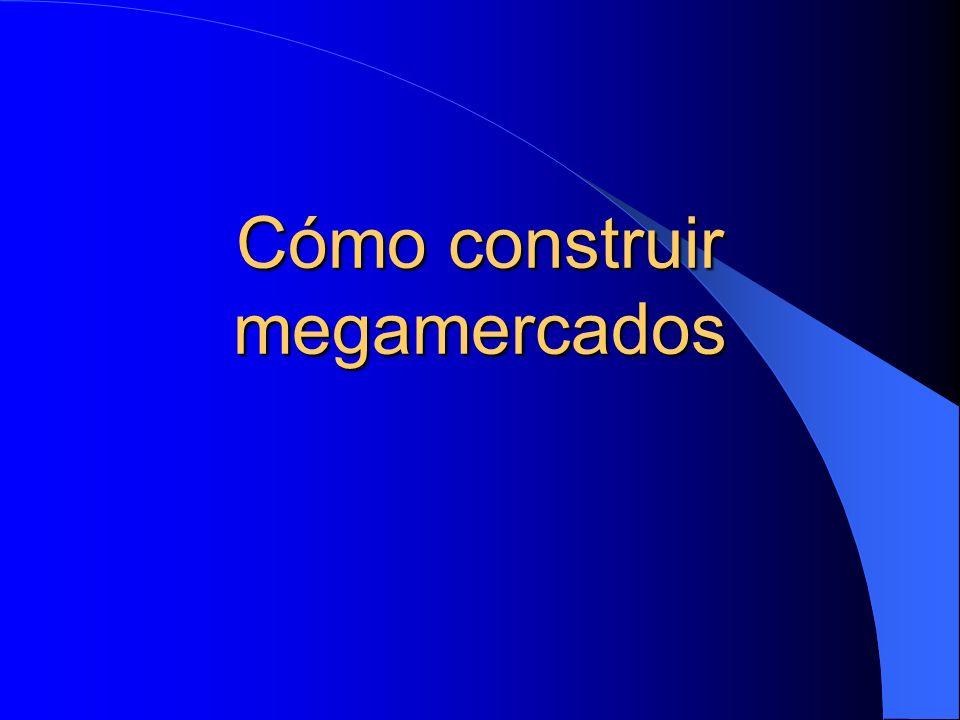 Cómo construir megamercados