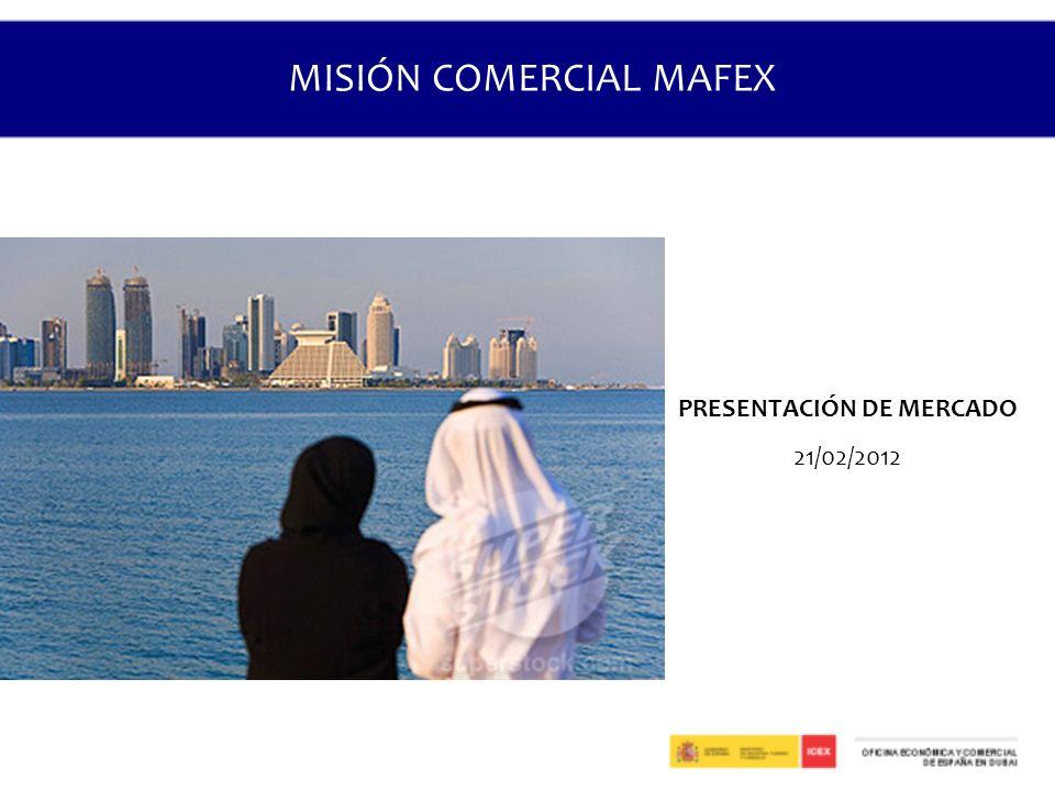 MISIÓN COMERCIAL MAFEX PRESENTACIÓN DE MERCADO 21/02/2012
