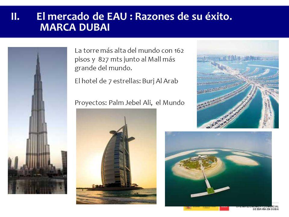 La torre más alta del mundo con 162 pisos y 827 mts junto al Mall más grande del mundo.