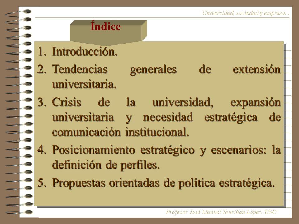 Universidad, sociedad y empresa...1.Introducción.
