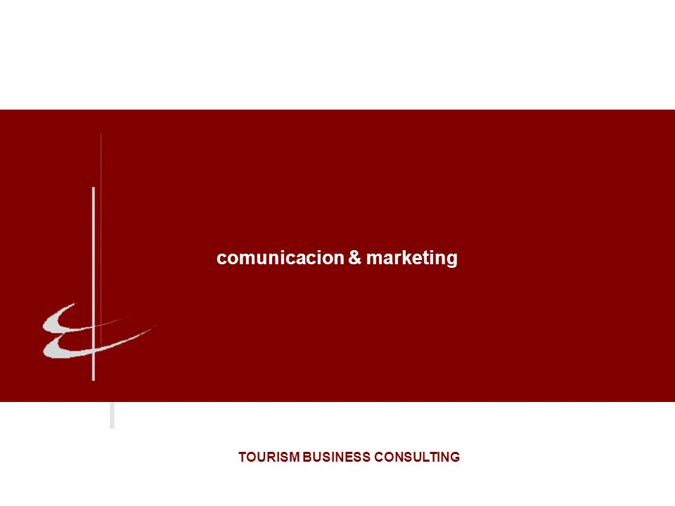 comunicacion & marketing TOURISM BUSINESS CONSULTING